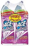 ACE WC Gel Candeggina, 2 Confezioni da 700 ml