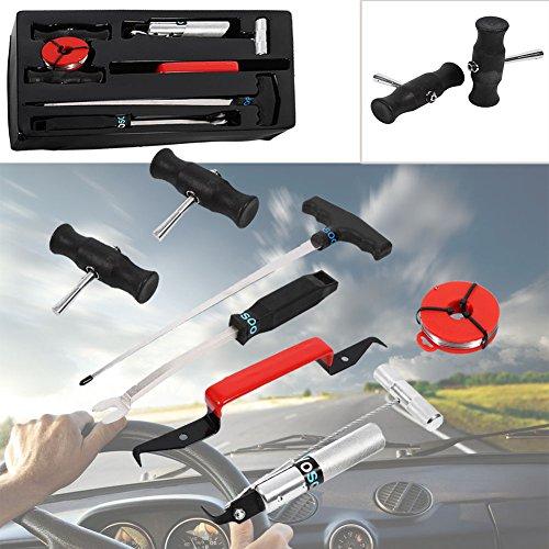 GOTOTOP Windschutzscheiben Werkzeug Autoglas 7tlg Reparatur Set Scheibeausbau Auto