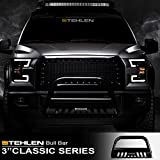 Stehlen 714937182097 3' Classic Series Bull Bar - Black For 2009-2018 Dodge Ram 1500/2019-2020 Classic