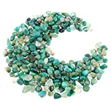 Hilitchi Green Agate Stone Tumbled Stones for Plants Cacti & Succulents Bedding, Vase Fill...