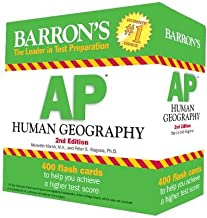 Barron's AP Human Geography Flash Cards 2nd Edition[BARRON AP HUMAN GEOGRAPHY FLAS][Other]