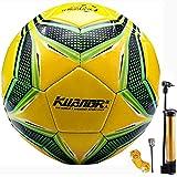 Senston Ballon de Foot Taille 5 Adultes Enfants Entraînement Ballon de Foot