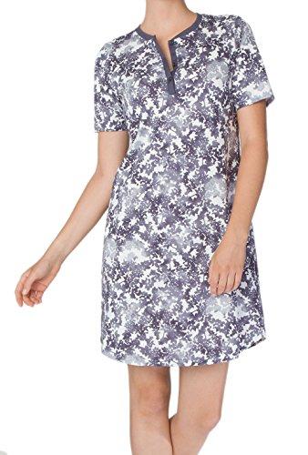 Damen Nachthemd kurzarm mystic blue XS