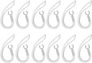 B Blesiya 12 delar ersättningsöronkrokar bluetooth headset öronkrok ögla öronögla 6 mm