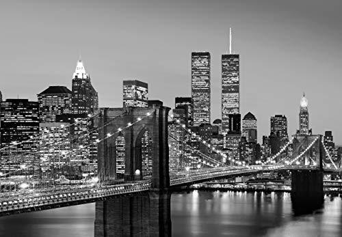 Fotobehang New York Manhattan - 366 x 254 cm Kantoor
