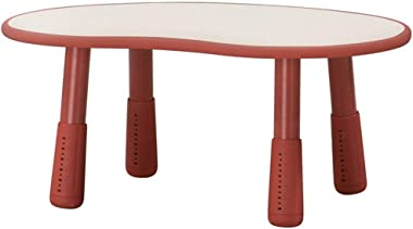 Children's Study Table Kids Table Activity Desk Nursery Wooden Multifunction Table,Smooth Edges Stable and Durable Boy and Girl Study Table (Color : Style6, Size : 55x83x38cm)