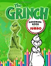 The Grinch Coloring Book: Grinch Coloring Book For Kids