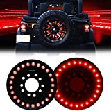 Firebug JK Wrangler 3rd Brake Light Red for Spare Tire, JK LED Brake Light, JK Accessories...