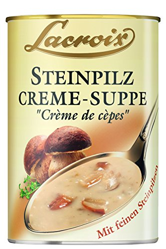 Lacroix Steinpilz-Creme-Suppe, 3er Pack (3 x 400 ml)