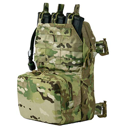 TAG Mini Combat Sustainment Pack Day Pack with 2L Source Hydration Bladder - OCP (Multicam)