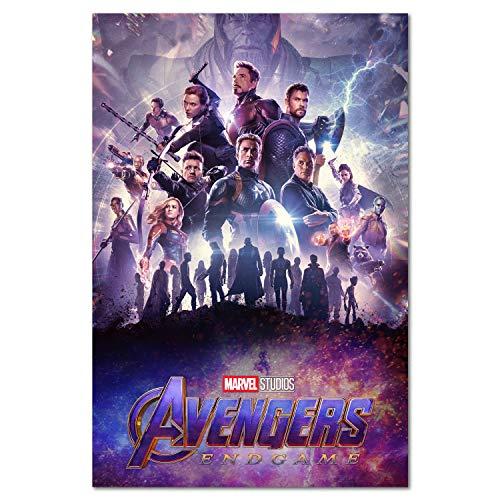 Avengers Endgame Poster - International Art - 2019 Marvel Movie (13x19)