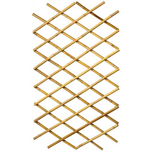 BIHL Garten Rankgitter Rankzaun Rankhilfe Spalier 170 x 180 cm Bambus