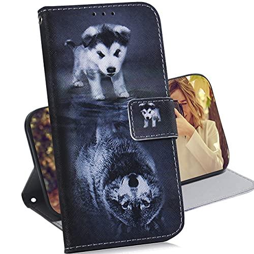 Klapphülle mit Standfunktion für Motorola Edge 20 Wallet Hülle Hülles mit Motiv Handy Schutzhüllefür Lederhülle Flipcase Handytasche Handyhülle mit Kartenfächern für Motorola Edge 20