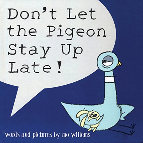 Don't Let The Pigeon Stay Up Late! audiobook cover art