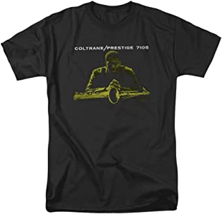 John Coltrane Mellow Yellow Concord Music Mens T-Shirt Black