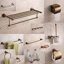 MBYW moderne hoge dragende handdoek rek mode badkamer handdoekenrek Opslag plank Ruimte aluminium dubbele handdoek rek Eur...