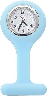 Sonline Affaire infirmiere de silicone Docteur Broche Tunique montre a gousset --- lumiere bleue