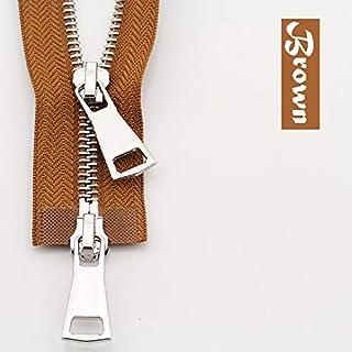 Yitang Gar-den Cucito Zipper 80//90 100//120//150 Centimetri Doppio cursore della Resina di plastica Zipper colorato for lindumento di Cucito Accessorio della Decorazione di Cucito Crafts