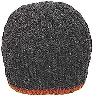 Men's Warm Winter Wool Textured Knit Andrew Beanie | Ethical Fair Trade Production | Handmade in Nepal