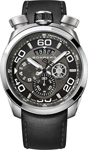 Bomberg Orologio Cronografo Quarzo Uomo con Cinturino in Pelle BS45.008