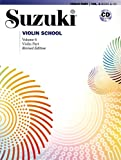 Suzuki Violin School Violin Part & CD, Volume 6 | Violine | Buch & CD