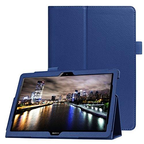Tabletschutz für Huawei MediaPad T3 10 Stand Hülle 9.6 Zoll aufstellbar Kunstleder + GRATIS Stylus Touch Pen