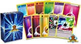 100 Assorted Pokemon Energy Cards - 5 Holo Energy Cards, 5 Special Non-Basic Energy Cards, and 90 Basic Energy Cards - All Cards are Authentic - Includes Golden Groundhog Treasure Chest Storage Box!