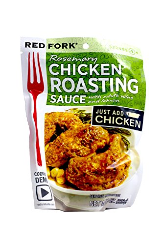 Red Fork Seasoning Sauce, Rosemary Chicken , 8 Ounce (Pack of 6)