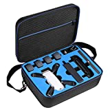 D DACCKIT Travel Carrying Case Compatible with DJI Spark Fly More Combo - Fit DJI Spark Drone, 4X Intelligent Flight Batteries, Remote Controller, Charging Hub and Other Accessories