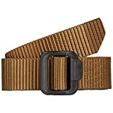 5.11 Tactical Men's 1.5-Inch Convertible TDU Belt, Nylon Webbing, Fade-and Fray-Resistant, Coyote, L, Style 59551