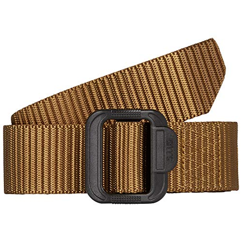 5.11 Tactical Men's 1.5-Inch Convertible TDU Belt, Nylon Webbing, Fade-and Fray-Resistant, Coyote,...