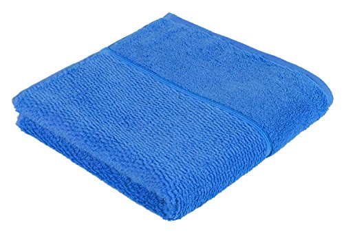 frottana Pearl Handtuch 50 x 100 cm aus 100% Baumwolle, dark pool