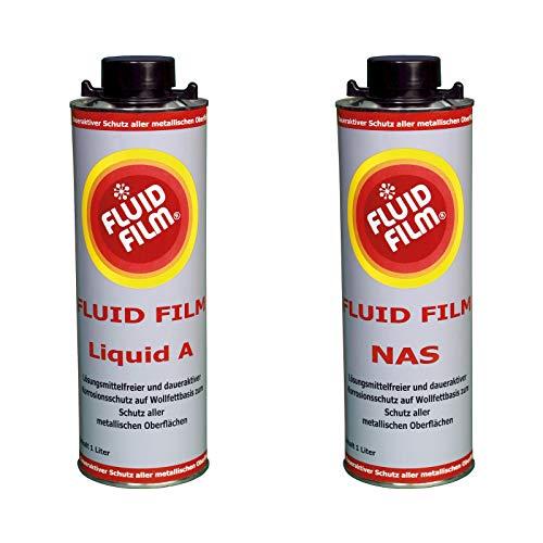 FLUID FILM SET Liquid A Normdose 1 Liter und NAS Normdose 1 Liter