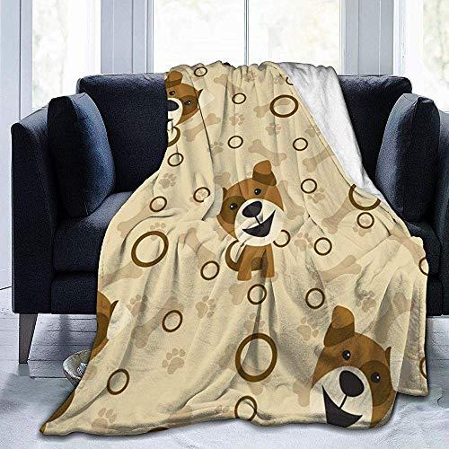 wobuzhidaoshamingzi deken van molton, zeer zacht, cartoon-motief
