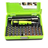 Angle-w Tragbares Design 53 in 1Multitool Professional Precision Torx Schraubendreher Set Pinzette...