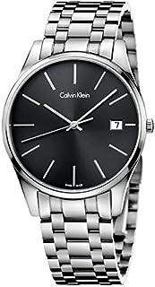 Calvin Klein 32000954 - Orologio rotondo al quarzo, analogico, in acciaio INOX