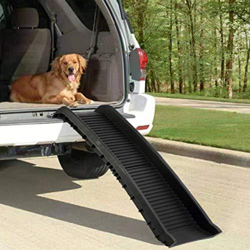 TFACR Rampa Plegable para Mascotas - Escalera telescópica para Perros Capacidad de...