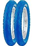 Kenda 2er Set 12'' K-935 Drahtreifen blau 12 1/2 x 2 1/4 62-203