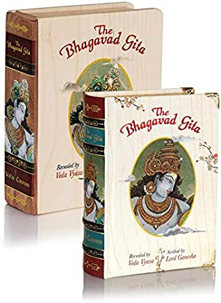 The Bhagavad Gita Book, Pocket Edition A6, Original Sanskrit verses with English Transliteration plus Translation in English & Hindi