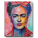 Frida Kahlo Portrait Hauptdekor Poster Und HD-Druck Auf