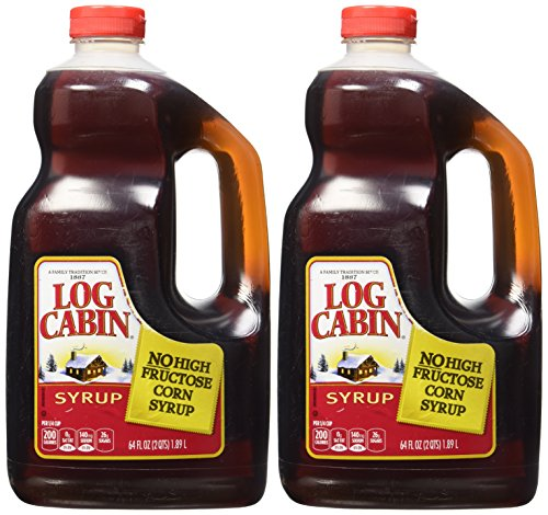 Log Cabin Original Syrup 128 Ounces Pack of 2