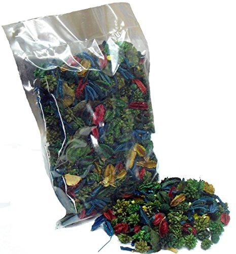 MERCAVIP Thermovip. Duftende Potpourri aus getrockneten Blumen Grün. Wirtschaftlich-Format 150 Gr Beutel.