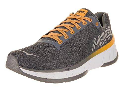 Price comparison product image HOKA ONE ONE Men's Cavu Running Shoe Alloy / Nine Iron Size 10.5 D US