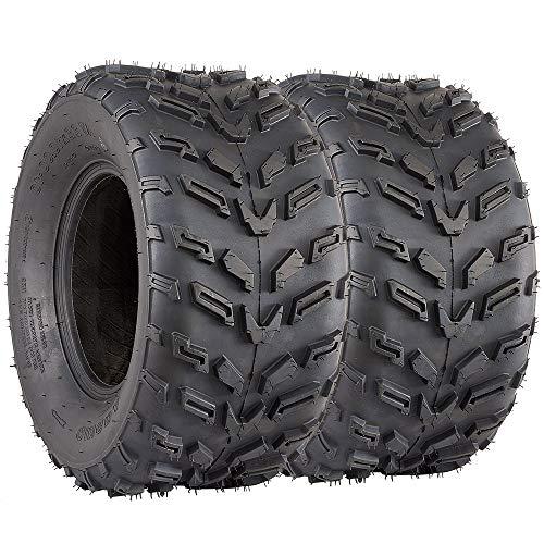 22x11-10 ATV Tires 4ply VANACC ATV Sport Tires 22x11x10 22/11/10 Set of 2
