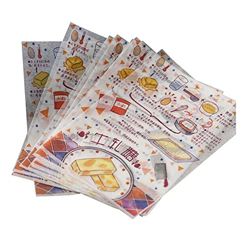 Buy Dragon Troops 50 PCS Packaging Candy Paper Caramel Wrappers Twisting Wax Paper 125CM-B4