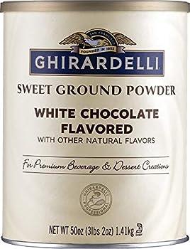 ghiradelli white chocolate powder