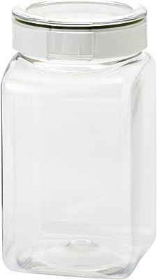 タケヤ化学工業 保存容器 フレッシュロック 角型 1.4L 日本製 湿気を防ぐ ワンタッチ開閉 軽くて丈夫