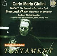 Webern: Six Pieces for Orchestra, Mussorgsky: Pictures at an Exhibition by Berlin Philharmonic Orchestra (2011-10-11)