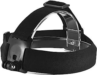 montagem da cabeça da câmera de ação Zwbfu Ajustável -derrapante ação cabeça da câmera Strap Headband Mount para hero 7/6/...