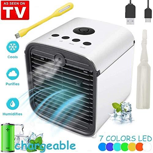Refroidisseur d'air Cooler et Ventilateur,Climatiseur Mobile Portable, 3en1...